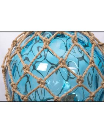 Suspension flotteur de pêche bleu