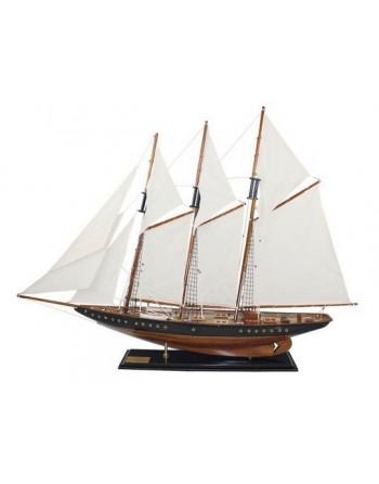 Maquette bois trois mâts Atlantic