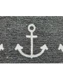 Tapis de bain marine ancre