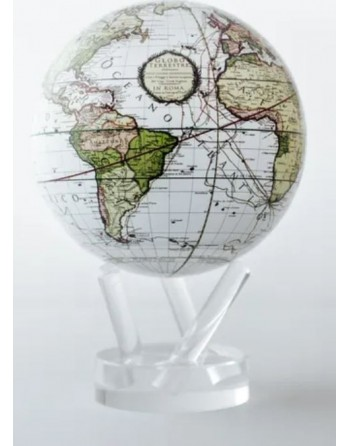 Globe terrestre en mouvement texte latin