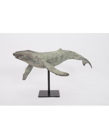 Baleine en résine sur tige métal