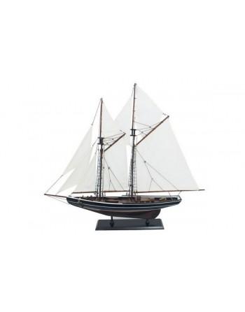 """Maquette de voilier bois """"bluenose"""""""