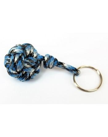 porte clé pomme touline bleue