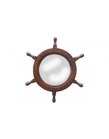 Roue de gouvernail avec miroir