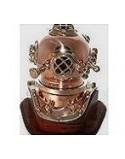 casque scaphandrier cuivre et laiton taille 2