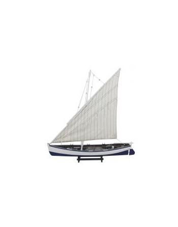 Maquette bois barque à voile