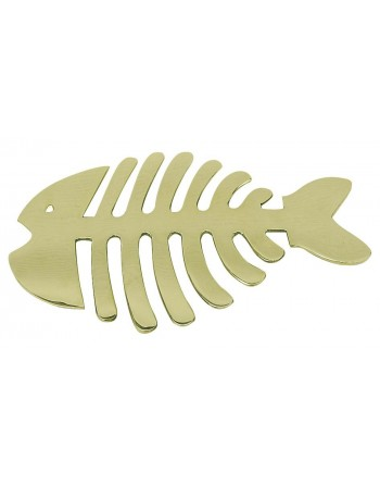 Dessous de plat arête de poisson laiton