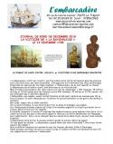 Statuette figure de proue en bois officier de marine