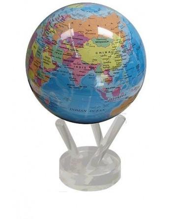 Globe rotatif mova, décor politik